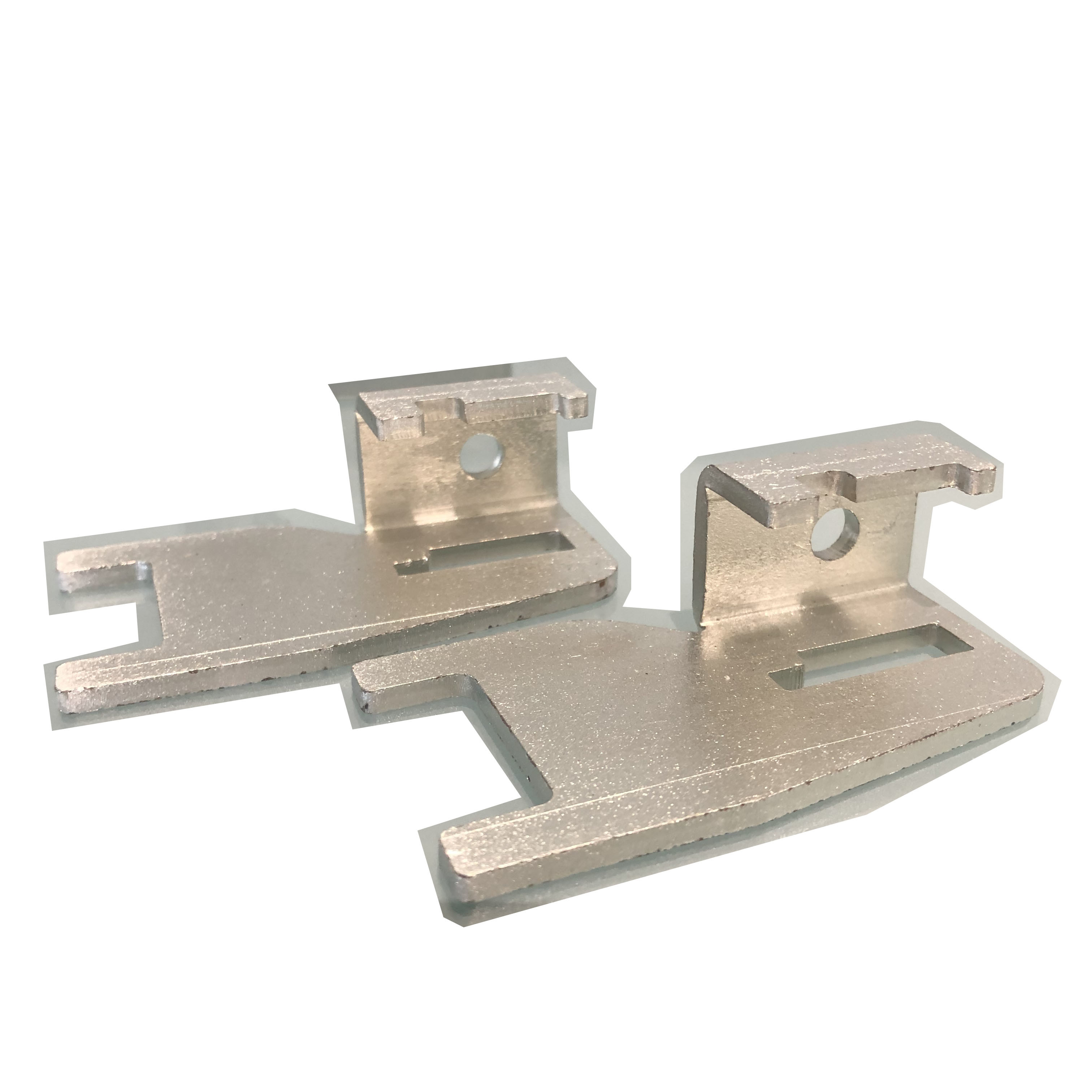 Sheet Precision Metal Stamping Parts Q235 Material Zinc Plating Finish