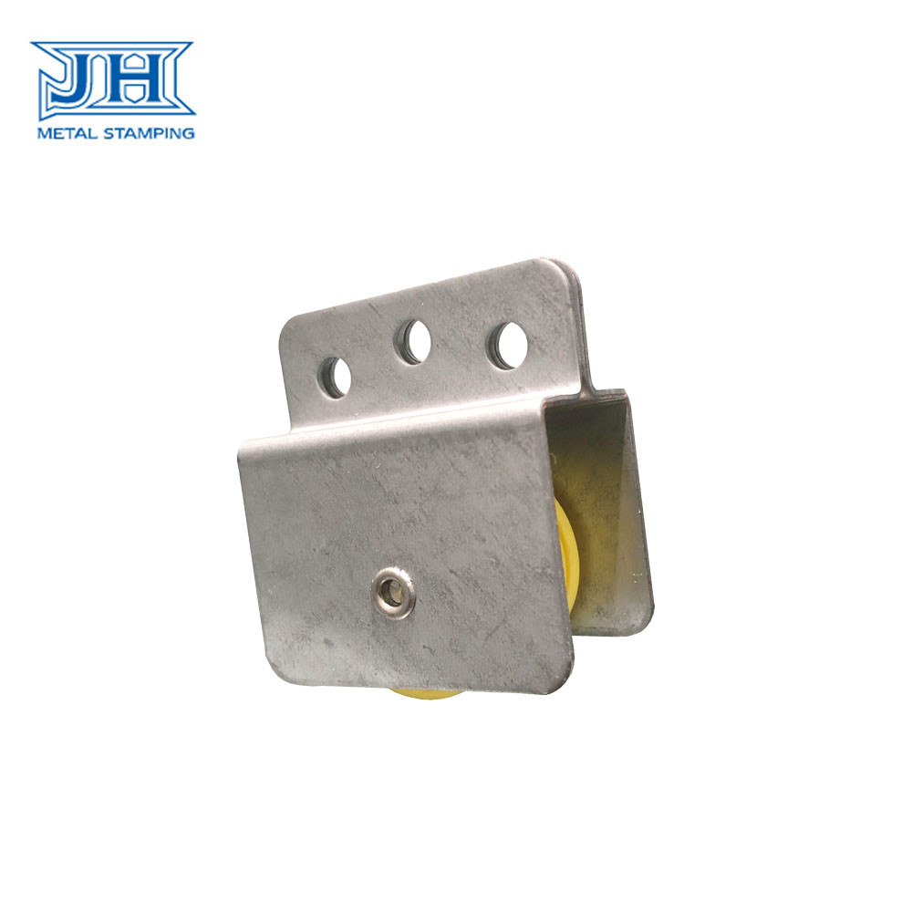 OEM Furniture Fittings Window and Door Hardware Sheet Metal Steel with plastic pulley